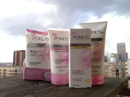 ponds luminous clean