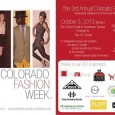 This is the official announcement for Colorado Fashion Week 2013. We suggest you get your tickets while they last! October 3rd, 2013: Day 1 This will be the first time […]