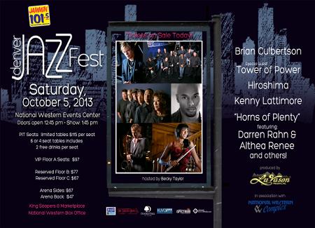 Denver Jazz Festival 2013