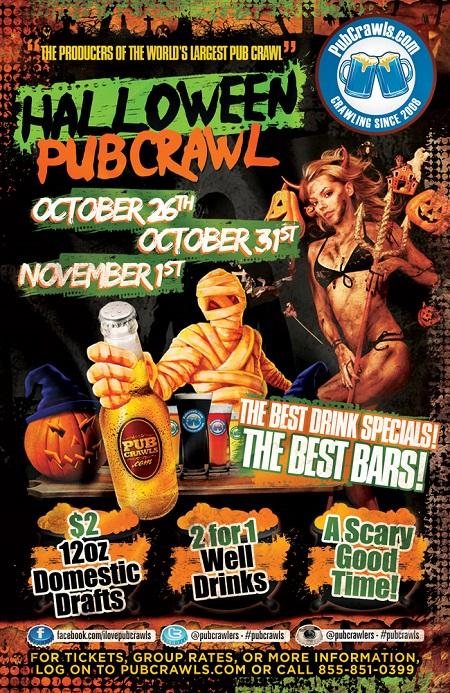 halloween pub crawl denver