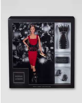 Herve Leger by Max Azria Barbie Doll