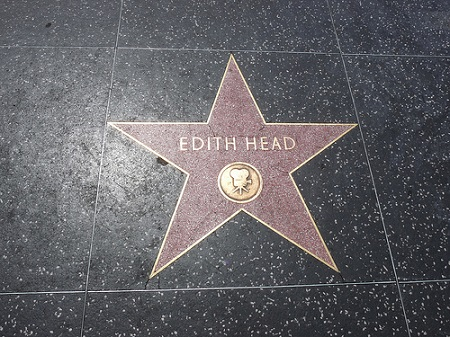 edith head hollywood walk of fame