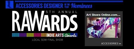 raw artists awards