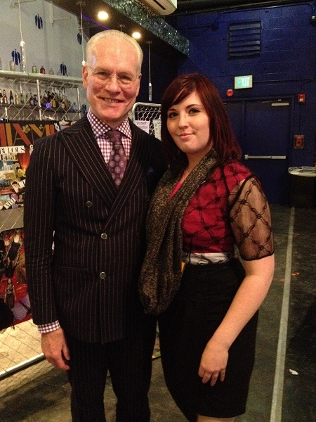 Tim Gunn at Goodwill Fashion Show