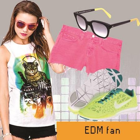 edm look