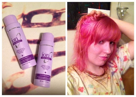 colorful hair dye tutorial