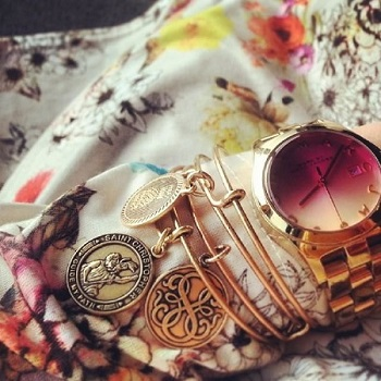 alex and ani how to stack