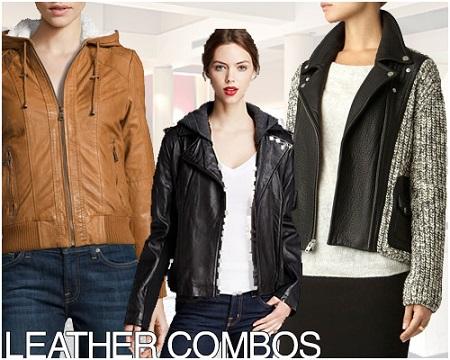 Stylish leather Coats