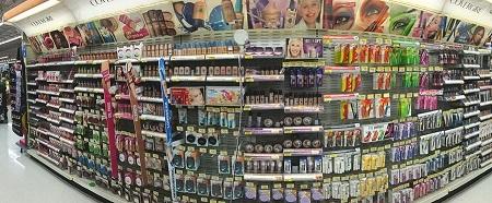 Walmart Makeup Isle