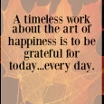 Be Thankful, It's The Fashionable Thing To Do Oh, Thanksgiving…what a delightful tradition of intentional gratitude you are! A blissfully happy day filled with joyous people celebrating thankfulness is my […]