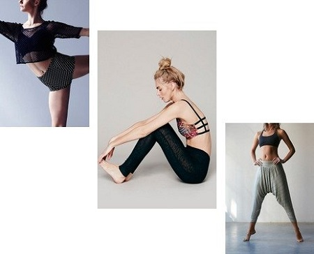 Dance fitness wear