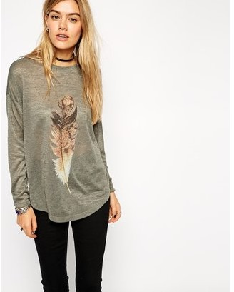 Feather Print Tees