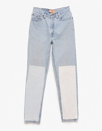 B Sides Patchwork Denim Light