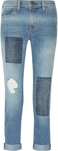 Spring Patchwork Jeans