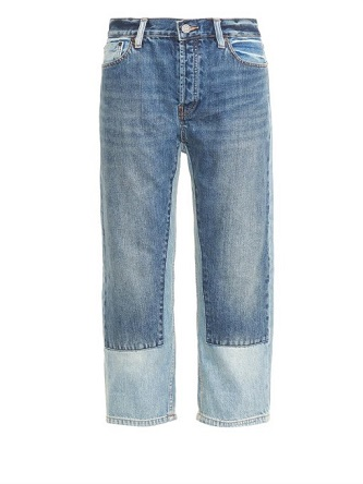 Marc By Marc Jacobs Patchwork Denim
