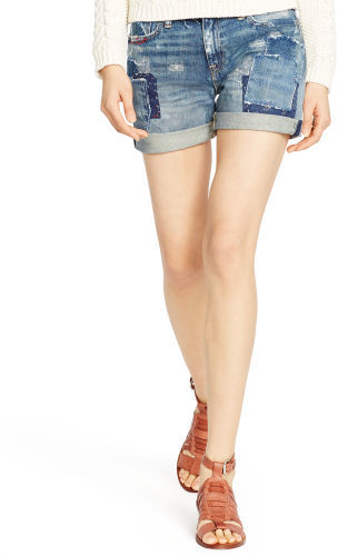Ralph Lauren Denim Patchwork Shorts