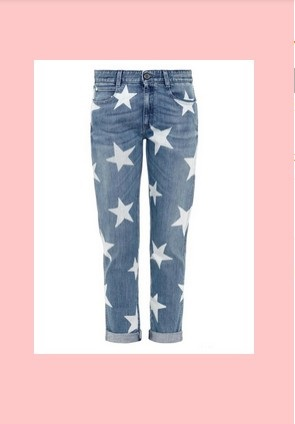 pants with stars