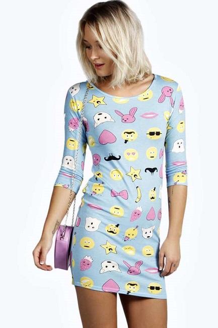 emoji dresses