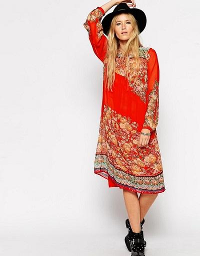 Boho Print Dresses
