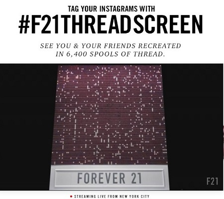 Forever 21 Live Instagram Streaming