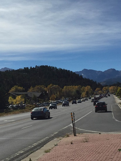 Estes Park in the Fall