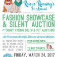 "Are you interested in fashion? Are you ready to adopt a pet? If you have answered ""YES"" to either of these questions, this is an event you will not want to […]"
